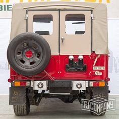 New Project 1983 Toyota Land Cruiser FJ43 Red