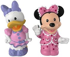It's a famous Disney pair-in their pajamas! That's right. Disney's very own Minnie Mouse and Daisy Duck figures are ready for a pajama party and your little one is invited!...