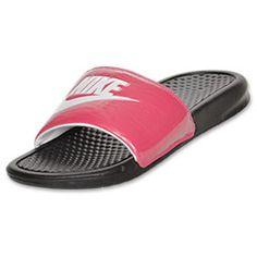 a7c1d2690b3b3e Finish Line. Nike Slide SandalsNike Flip FlopsNike SlidesNike BenassiNike  WomenBirthday ListPink ...