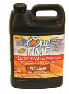 Tricopolymer Voc Free Non Toxic Cedar Seal 1 Qt Clear