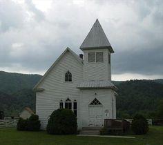 Old Methodist Church in Bastian, Va