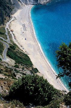 Myrtos Beach in Kefallonia Island_ Greece