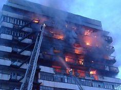 В Туапсе пожар в многоэтажном жилом доме потушен