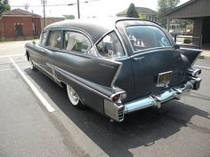 1958 Cadillac Eureka Combination Hearse Ambulance, via Flickr.