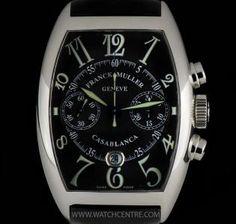 #FranckMuller S/S Black Dial #Casablanca #Chrono Gents B&P 8885 C CC DT   juwelier-haeger.de