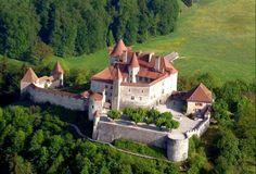 Castillo of Gruyeres .Switzerland.