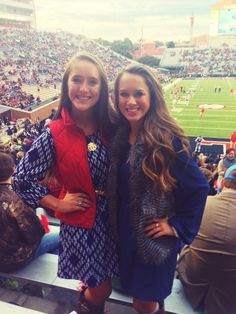 These cute outfits are making us crave fall weather & football season! #hottytoddy