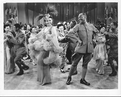 Bill Robinson and Lena Horne in a scene from Stormy Weather, , produced and released by 20th Century Fox in 1943. The film is one of two major Hollywood musicals produced in 1943 with primarily African-American casts, the other being MGM's Cabin in the Sky, and is considered a time capsule showcasing some of the top African-American performers of the time, during an era when black actors and singers rarely appeared in lead roles in mainstream Hollywood productions, particularly of the…