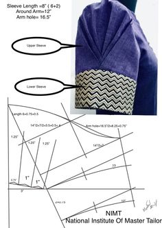 Best 12 Sewing Blouse Pattern Costura New Ideas – SkillOfKing. Kurta Patterns, Saree Blouse Patterns, Designer Blouse Patterns, Kurti Sleeves Design, Sleeves Designs For Dresses, Sleeve Designs, Saree Blouse Neck Designs, Fancy Blouse Designs, Sewing Sleeves