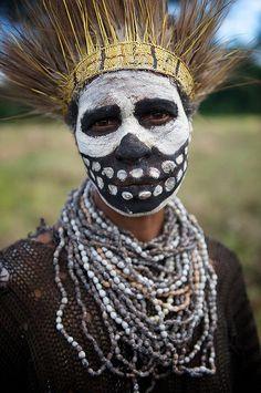 New Guinea man. Would make sweet halloween costume