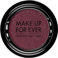 MAKE UP FOR EVER Artist Shadow (68 BRL) ❤ liked on Polyvore featuring beauty products, makeup, eye makeup, eyeshadow, powder blush, make up for ever, palette eyeshadow and gel eyeshadow