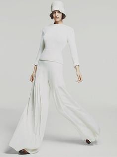 I modeled a look like this in the '60s.  Still love it!