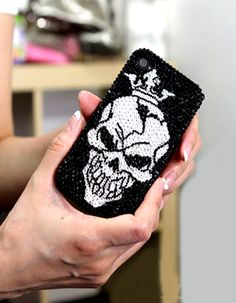 Awesome Skull with Crown iPhone 4 Bling Case Design for teens Bling Phone Cases, Cool Phone Cases, Iphone Cases, Skull With Crown, 4s Cases, New Iphone, Goth Girls, Women's Fashion, Fashion Design