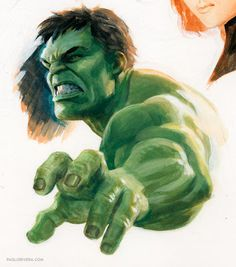 Hulk by Paolo Rivera Hulk Marvel, Hulk Avengers, Marvel Art, Marvel Heroes, Avengers Cartoon, Marvel Films, Marvel Cinematic, Marvel Characters, Bruce Banner