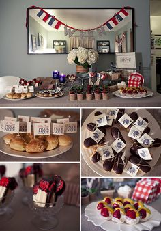 """french """"pique nique"""" themed baby shower by Posh Paperie. ah-mazing!"""