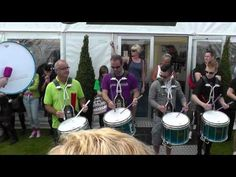 Jim Kilpatrick and the Shotts & Dykehead Caledonia Pipe Band Drum Corps Drum Salute - Worlds 2012