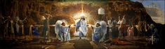 Ron DiCianni - The Resurrection Mural - Paper and Canvas Art Prints by Ron DiCianni