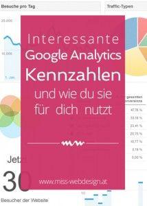 So nutzt du Google Analytics Kennzahlen für deine Website | miss-webdesign.at
