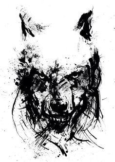 Эскизы тату: 100 нереальных волков! | Онлайн-журнал о тату