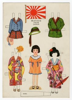 Little Americans from Many Lands-Matsue from Japan paper doll Dolls Dolls, Doll Toys, Reborn Dolls, Reborn Babies, Baby Dolls, Paper Toys, Paper Crafts, Paper Dolls Printable, Up Book