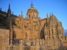 Catedral de Salamanca, España  That roof has deep gutters that COME OUT OF NOWHERE.  Just saying.