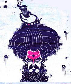 Buy Custom Posters, Art Prints, Wall Posters Online in India Indian Illustration, Illustration Story, Om Art, Shiva Art, Shiva Shakti, Shiva Tattoo Design, Psychedelic Drawings, Lord Shiva Painting, Aboriginal Art