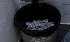 Feto é encontrado em lata de lixo na Rodoviária de Vitória