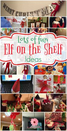Unleash your creativity as you count down the days till Christmas. Get your elf ready to report to Santa who's been naughty or nice but of course let them have fun by doing some mischief. Surprise your family with these awesome and funny elf on the shelf ideas.