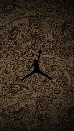 Milestones of College Basketball. Basketball is a favorite pastime of kids and adults alike. Jordan Logo Wallpaper, Nike Wallpaper Iphone, Michael Jordan Art, Michael Jordan Basketball, Michael Jordan Symbol, Dope Wallpapers, Sports Wallpapers, Basketball Art, Basketball Pictures