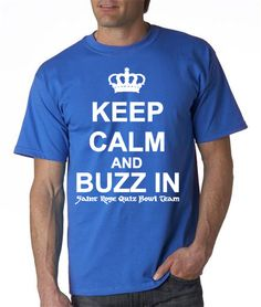 Keep calm and buzz in (or use the force) Add Yoda or Darth Vader?