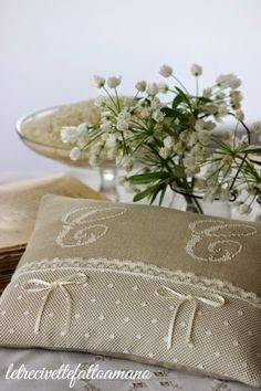 letrecivette ring pillow - cuscino fedi