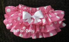 Original Sassy Pants Ruffle Diaper Cover Panty Big by SherbetBaby, $32.00