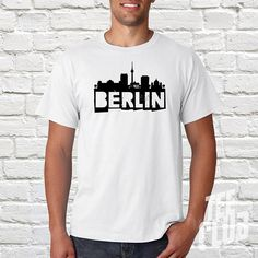 Berlin City Tour Tourist Graphic Printed Cool Deisgn German