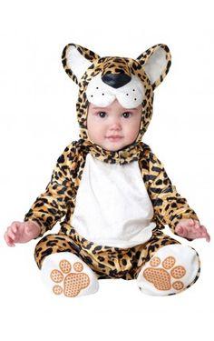 disfraz de leopardo chiquitn para beb