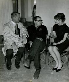 Cary Grant, screenwriter Peter Stone and Audrey Hepburn on the set of Charade  Stone's breakthrough as a writer came with his screenplay for Charade (1963), which was directed by Stanley Donen and starred Cary Grant and Audrey Hepburn. Charade, which was a huge hit, put Stone on the map and landed him a Hollywood contract, which resulted in  Father Goose (for which he won an Academy Award in 1965), Mirage, Arabesque, The Secret War of Harry Frigg, and Jigsaw.