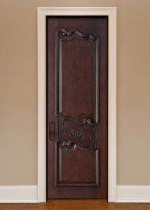 Custom Interior Door With Glass Panel