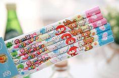 Kawaii pencils #japan #cute