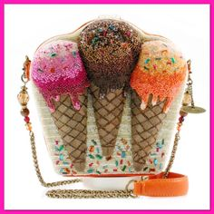 online shopping for Mary Frances Melt Down Ice Cream Cones Embellished Handbag from top store. See new offer for Mary Frances Melt Down Ice Cream Cones Embellished Handbag Cheap Purses, Unique Purses, Cheap Handbags, Cheap Bags, Cute Purses, Purses And Handbags, Fashion Handbags, Luxury Handbags, Luxury Purses