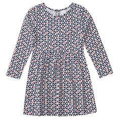 Girls' Monochrome Print Dress | Target Australia
