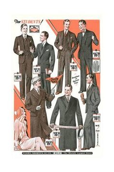 Unique Gifts For Men, Novelty Gifts, Vintage Outfits, Vintage Clothing, Looking Stunning, Find Art, Custom Framing, The Twenties, Pop Culture
