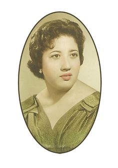 Mi madre, María Concepción Lillo Ortega.