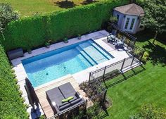 Backyard Pool Modern Interior Design 65 New Ideas Small Backyard Pools, Backyard Pool Designs, Small Pools, Swimming Pools Backyard, Ponds Backyard, Backyard Fences, Pool Landscaping, Outdoor Pool, Luxury Landscaping
