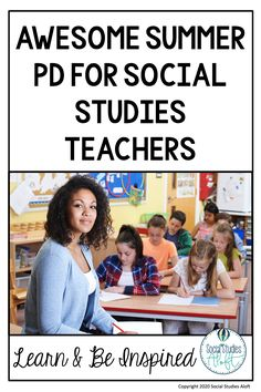 There are great summer PD opportunities for Social Studies teachers that provide inspiration, lasting friendships, and exceptional learning all around the U. Social Studies Lesson Plans, Social Studies Classroom, Math Lesson Plans, Social Studies Resources, Teacher Blogs, New Teachers, Teaching Methods, Teaching Ideas, English Lesson Plans