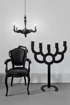 Big Bold Smoke Dining Chair & Chandelier London 2010