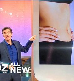 Dr. Oz details the 21-day flat belly diet: His weight-loss plan
