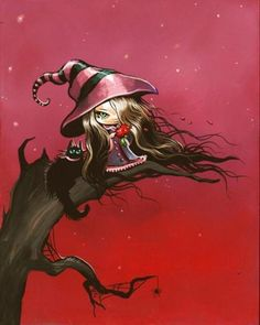 Witch in Pink