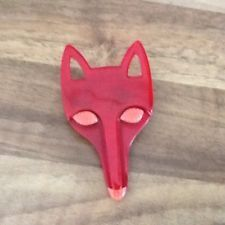 Lea Stein Fox Head Brooch