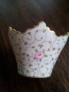 VA Portugal Crown Shaped Vase Vista Alegre by EreHeadIdeas on Etsy, $48.85