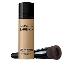 bareMinerals BARESKIN Kit Perfecting Face Brush and Pure Brightening Serum Foundation (BARE BEIGE) by Bare Escentuals * Details can be found by clicking on the image.