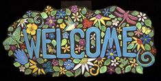 Carol Hegedus, handmade tiles studio.  Carol sells handmade tiles such as the ones used in this sign.  Check her website for tile selection to purchase.
